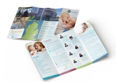 accordion brochure | IVF Michigan | the midnight oil group