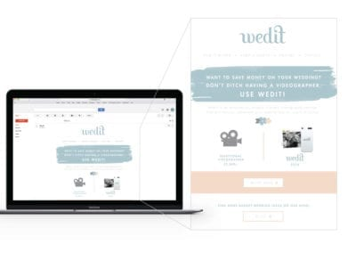 email marketing | Wedit | the midnight oil group