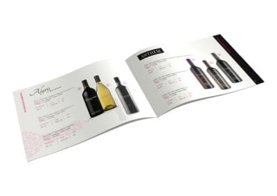 catalog design | The Wine Poor | the midnight oil group