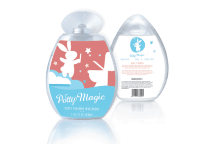 packaging design | Potty Magic | the midnight oil group
