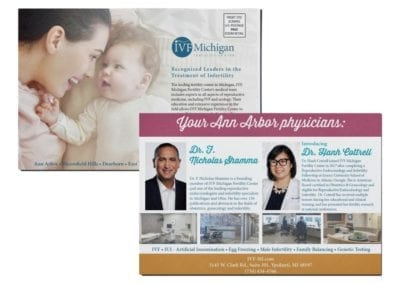 EDDM design | IVF Michigan | the midnight oil group