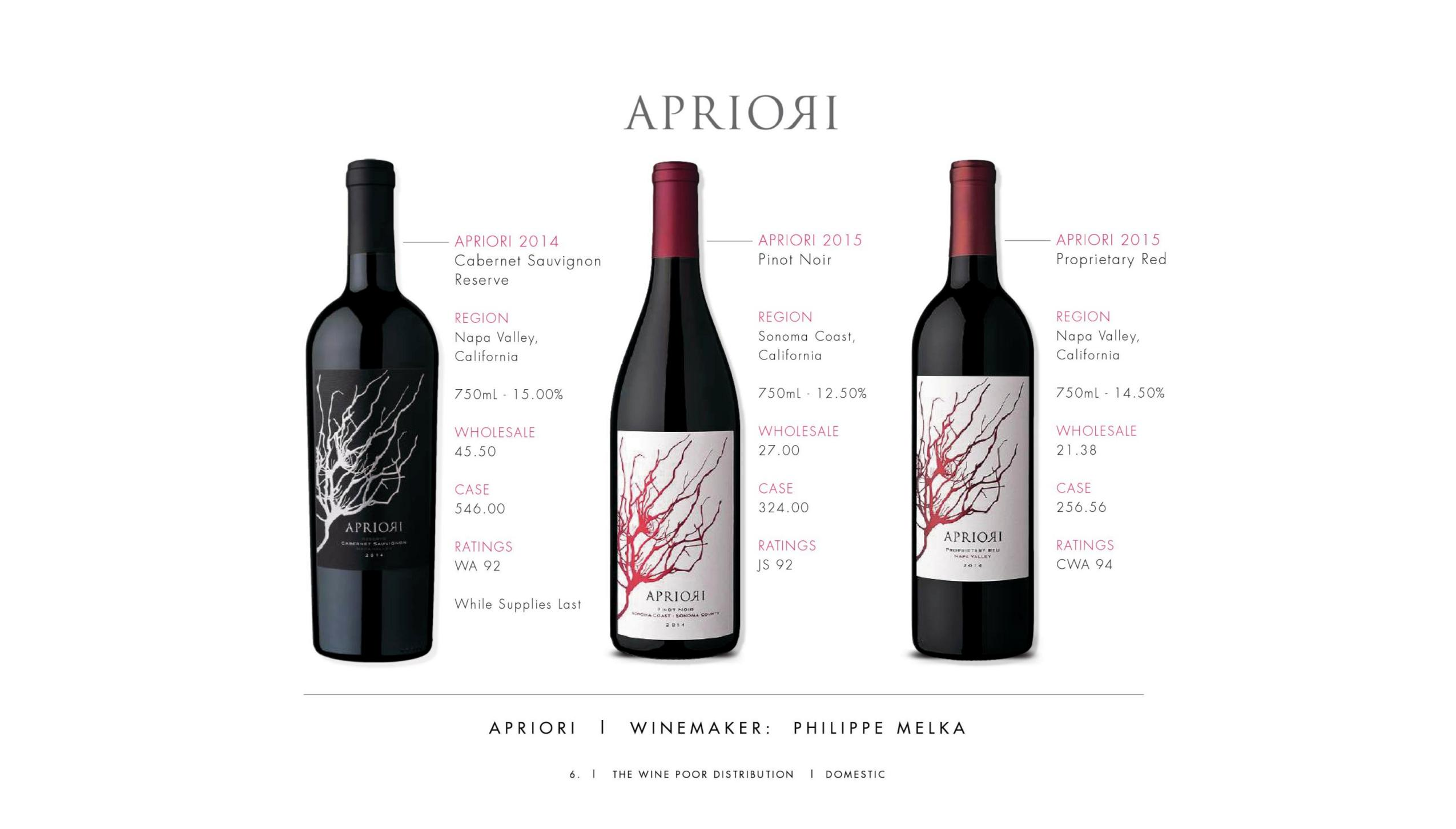 The Wine Poor Distribution 2019 Catalog The Midnight Oil Group