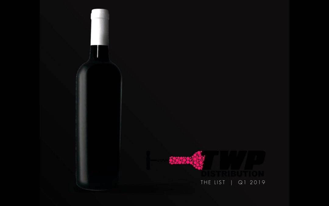 THE WINE POOR DISTRIBUTION 2019 CATALOG