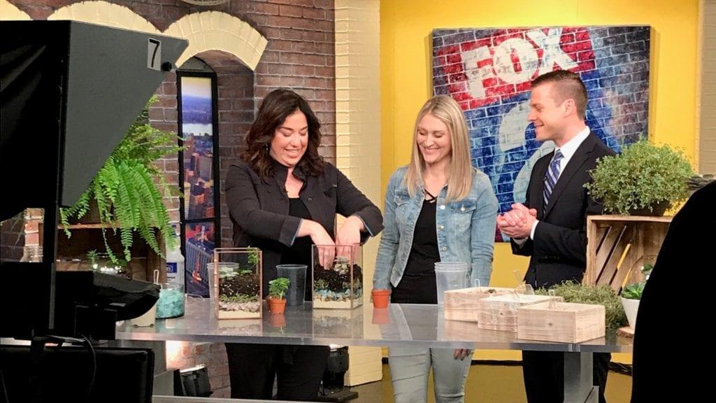 Terrariums on Fox 2 News