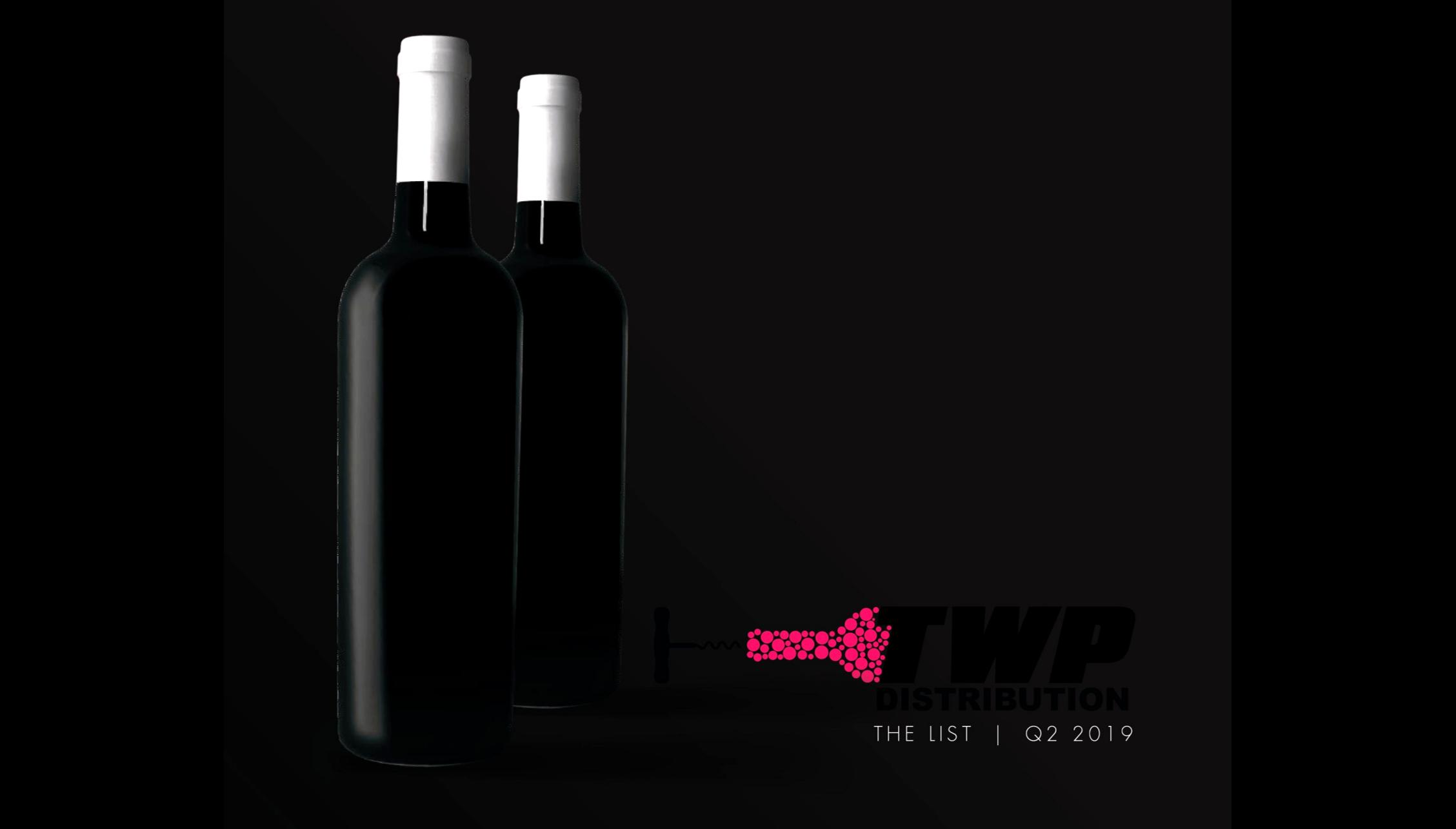 THE WINE POOR DISTRIBUTION 2019 Q2 CATALOG