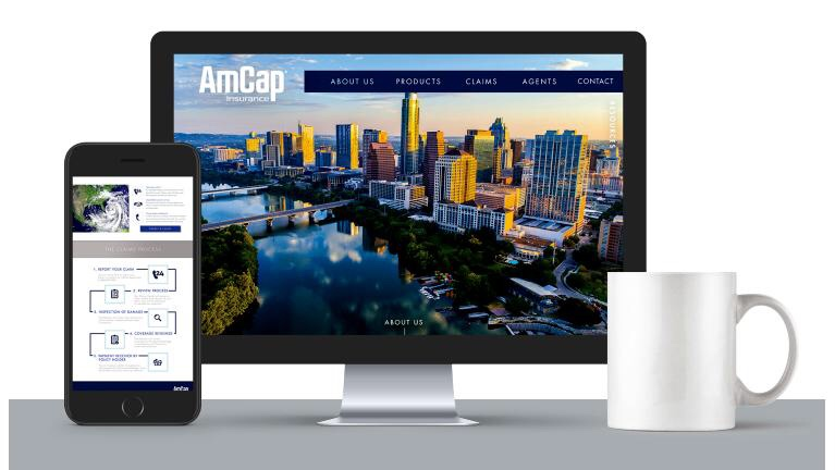 AMCAP INSURANCE WEBSITE DEBUT