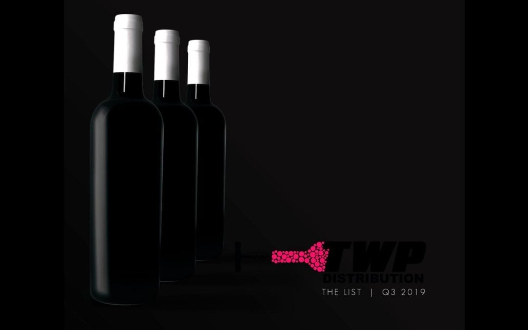THE WINE POOR DISTRIBUTION 2019 Q3 CATALOG