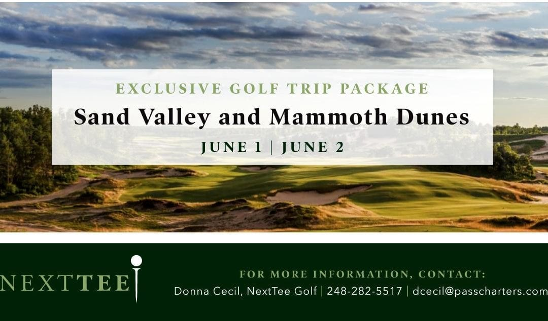 Sand Valley Mammoth Dunes NextTee Golf