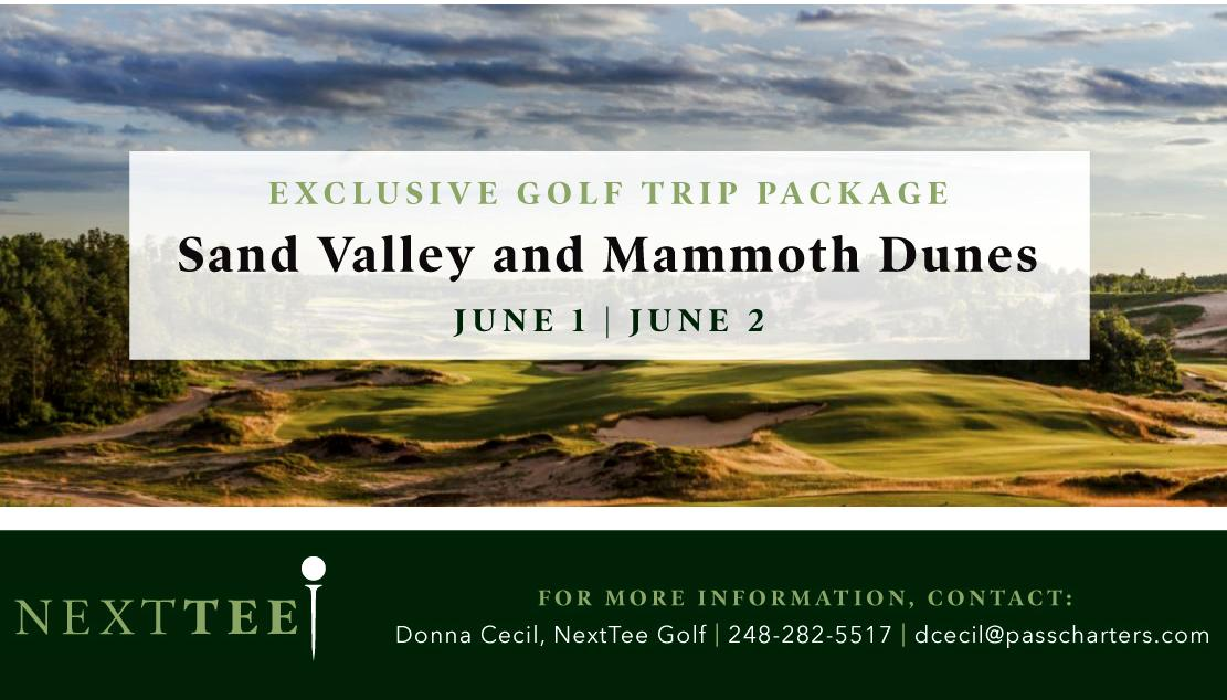 SAND VALLEY + MAMMOTH DUNES WITH NEXTTEE GOLF