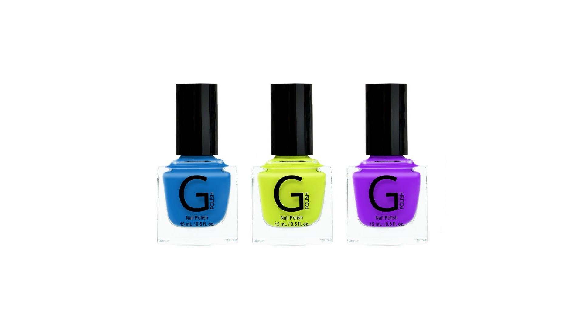 G POLISH DEBUTS SUMMER BRIGHTS COLLECTION