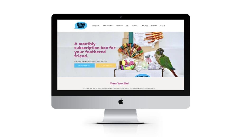 Squawk Box debuts new website