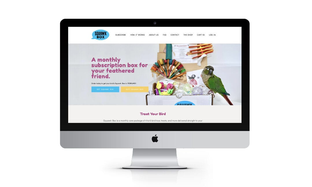SQUAWK BOX DEBUTS UPGRADED WEBSITE